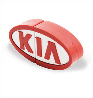 Kia usb stick custom made