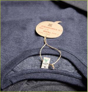 Salvage gerecyclede kleding productieproces