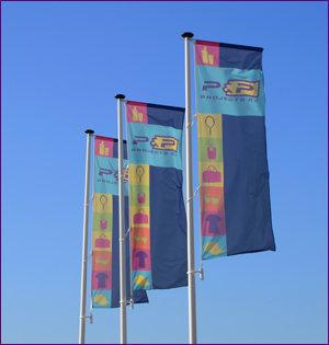 p&p vlaggen