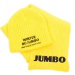 custom made mutsen - voorbeeld: Jumbo muts en sjaal