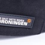 custom made caps - voorbeeld: Groningen cap detail