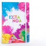 custom made relatiegeschenken - voorbeeld: IXTAnoa schrijfboek