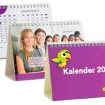 custom made relatiegeschenken - voorbeeld: Bureaukalender Jobbird