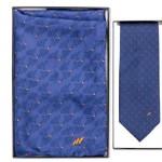 luxe geschenken - voorbeeld: KVGN stropdas en damessjaal