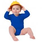 kinderkleding bedrukken - voorbeeld: Kinder romper lange mouw