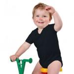 kinderkleding bedrukken - voorbeeld: Romper korte mouw