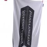 handdoek bedrukken - voorbeeld: Transavia handdoek