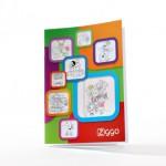 kinder gadgets - voorbeeld: Ziggo kleurboek