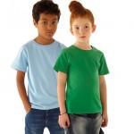 biologisch katoen - voorbeeld: Continental Clothing EPJ01 jongen en meisje