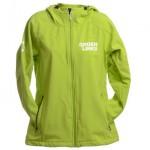jassen bedrukken - voorbeeld: Groen Links jas
