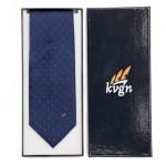 textiel bedrukken - voorbeeld: KVGN stropdas