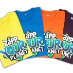 Zapp your planet t-shirts