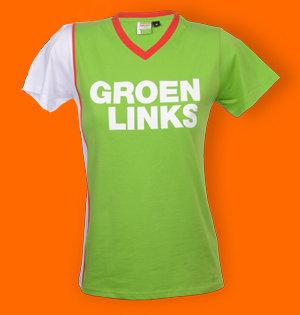 GroenLinks T-shirt