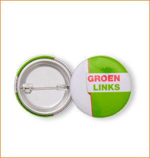 GroenLinks buttons