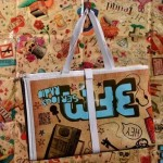 merchandise - voorbeeld: 3fm festivalmatje