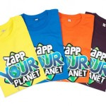 Zapp your planet t-shirt