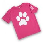 kinderkleding bedrukken - voorbeeld: KNGF kinder t-shirt