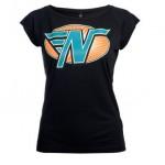 Zwarte Cross dames t-shirt