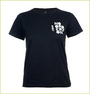 noorderzon 2014 earth positive dames t-shirt crew