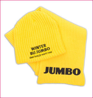 Jumbo sjaal en muts