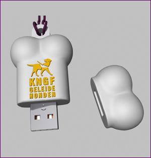 KNGF usb stick ontwerp