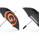paraplu bedrukken - voorbeeld: gemeente groningen paraplu
