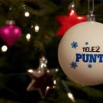 custom made relatiegeschenken - voorbeeld: tele2 kerstbal