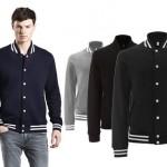 jassen bedrukken - voorbeeld: College Jacket