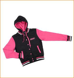varsity jacket bedrukken - voorbeeld: varsity jacket B-Brave