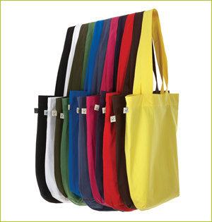 plastic tasjes verbod - voorbeeld: biologisch katoenen tas EP75