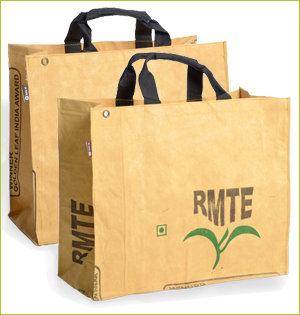 plastic tasjes verbod - voorbeeld: rag bag India