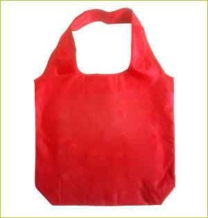 plastic tasjes verbod - voorbeeld: rpet shopper rood