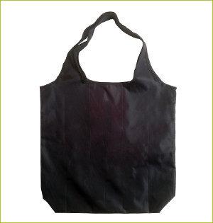 plastic tasjes verbod - voorbeeld: rpet shopper zwart