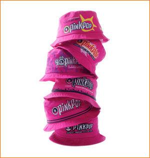 pinkpop hoedje verzameling