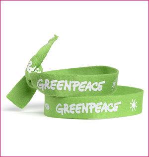 polsbandje Greenpeace