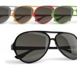 zonnebrillen-bedrukken - voorbeeld: captain zonnebril