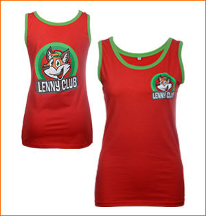 Team4animation crewkleding singlet Lenny Club 2016