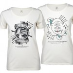 biologisch katoen - voorbeeld: Zeehondencreche dames T-shirt