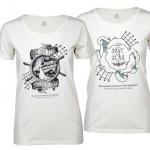 t-shirt bedrukken - voorbeeld: Zeehondencreche dames T-shirts