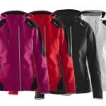 jassen bedrukken - voorbeeld: Craft jacket women