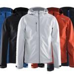 jassen bedrukken - voorbeeld: Craft sofshell jacket man