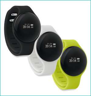 activity tracker bedrukken - voorbeeld: activity tracker 8734 kleur
