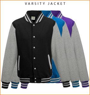varsity jacket bedrukken - voorbeeld: varsity jacket 1