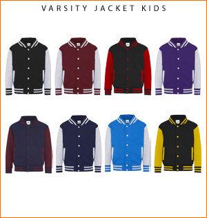 varsity jacket bedrukken - voorbeeld: varsity jacket kids 1