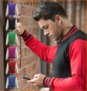 varsity jacket bedrukken - voorbeeld: varsity jacket