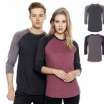 continental clothing salvage unisex baseballshirt