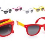zonnebrillen-bedrukken - voorbeeld: zonnebril opvouw