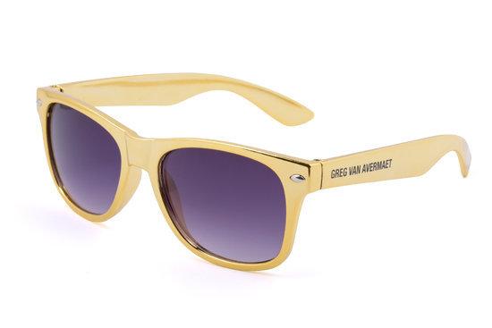 4e3542757a9ee0 zonnebrillen-bedrukken - voorbeeld  Greg van Avermaet gouden zonnebril