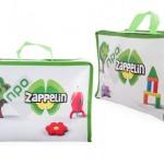 custom made relatiegeschenken - voorbeeld: Zappelin zomerkoffertje