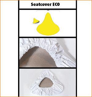 zadelhoesjes bedrukken - voorbeeld: zadelhoesje Eco